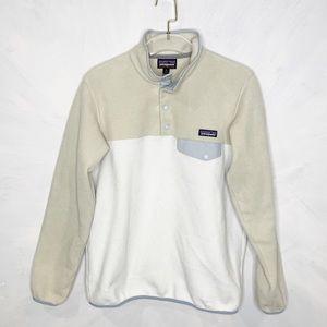 Patagonia Synchilla Snap-T® Fleece Pullover Cream